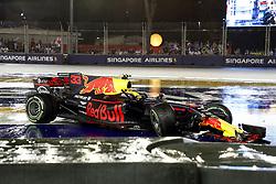 September 17, 2017 - Singapore, Singapore - Motorsports: FIA Formula One World Championship 2017, Grand Prix of Singapore, ..car of #33 Max Verstappen (NLD, Red Bull Racing) (Credit Image: © Hoch Zwei via ZUMA Wire)