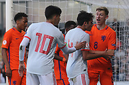 Tempers flare during the UEFA European Under 17 Championship 2018 match between Netherlands and Spain at the Pirelli Stadium, Burton upon Trent, England on 8 May 2018. Picture by Mick Haynes.