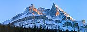 Mount Murchison, Icefields parkway, Banff National Park, Alberta