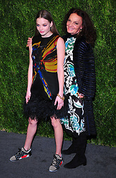 CFDA Vogue Fashion Fund 15th Anniversary event at Brooklyn Navy Yard on November 5, 2018 in Brooklyn, New York CAP/MPI/PAL ©PAL/MPI/Capital Pictures. 05 Nov 2018 Pictured: Kristine Froseth and Diane von Furstenberg. Photo credit: PAL/MPI/Capital Pictures / MEGA TheMegaAgency.com +1 888 505 6342
