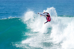 Michel Bourez of Tahiti finished equal 9th in the Corona Open J-Bay after placing second to Julian Wilson of Australia in Heat 4 of Round Five in pumping Supertubes, Jeffreys Bay, South Africa.