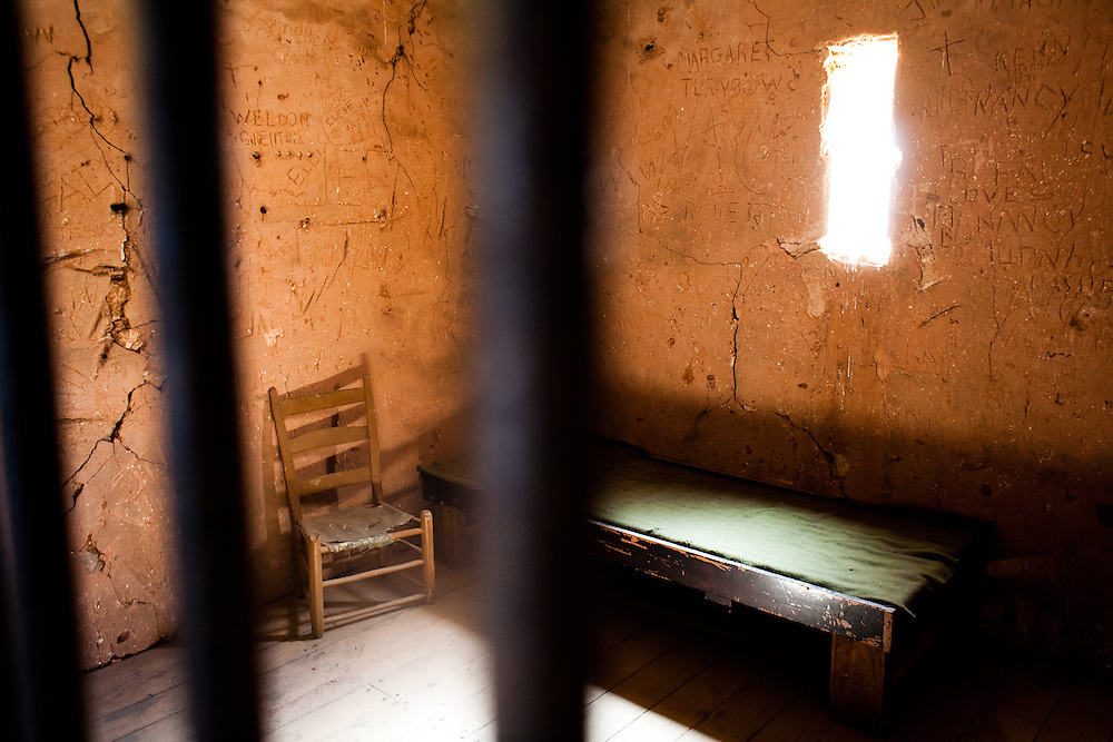 The Buffalo Gap historic village preserves the Taylor County Courthouse built in 1880, giving visitors a glimpse into Goodnight's era. The jail cell for hostile prisoner's was built on the second floor just above the courtroom.