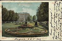 Zagreb : Dio Zrinjevca s akademijom = Agram : Place Zrini avec l'academie des sciences et des beaux arts. <br /> <br /> ImpresumWien : G. Rüger & Co., [1903].<br /> Materijalni opis1 razglednica : tisak ; 9 x 14 cm.<br /> NakladnikG. Rüger & Co<br /> Vrstavizualna građa • razglednice<br /> ZbirkaZbirka razglednica • Grafička zbirka NSK<br /> ProjektPozdrav iz Zagreba • Pozdrav iz Hrvatske<br /> Formatimage/jpeg<br /> PredmetZagreb –– Trg Nikole Šubića Zrinskog<br /> SignaturaRZG-ZRIN-10<br /> Obuhvat(vremenski)20. stoljeće<br /> NapomenaRazglednica je putovala 1903. godine. • Poleđina razglednice namijenjena je samo za adresu.<br /> PravaJavno dobro<br /> Identifikatori000953215<br /> NBN.HRNBN: urn:nbn:hr:238:094256 <br /> <br /> Izvor: Digitalne zbirke Nacionalne i sveučilišne knjižnice u Zagrebu