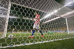Gol do Brasil na partida contra a Croácia na estréia da Copa do Mundo 2014, na Arena Corinthians, em São Paulo. FOTO: Jefferson Bernardes/ Agência Preview