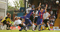 Fotball<br /> Foto: SBI/Digitalsport<br /> NORWAY ONLY<br /> <br /> Crystal Palace v Luton Town<br /> <br /> The Coca-Cola Football League Championship. Selhurst Park.<br /> 06/08/05<br /> <br /> Crystal Palace begin to celebrate a goal that was not allowed.