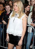 Ellie Goulding, London Fashion Week SS17 - Topshop, Old Spitalfields Market, London UK, 18 September 2016, Photo by Brett D. Cove