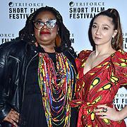 Chizzy Akudolu attend TriForce Short Festival, on 30 November 2019, at BFI Southbank, London, UK.
