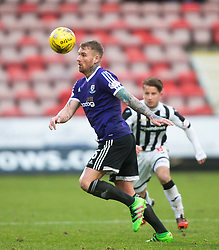 Ayr United's Ryan Stevenson. <br /> Dunfermline 3 v 2 Ayr United, Scottish League One played at East End Park, 13/2/2016.