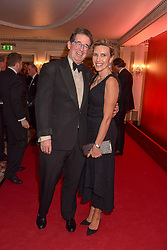 Lord & Lady Grimthorpe at The Cartier Racing Awards 2018 held at The Dorchester, Park Lane, England. 13 November 2018. <br /> <br /> ***For fees please contact us prior to publication***