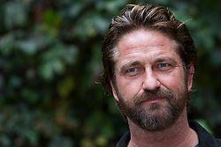 'Geostorm' photocall in Rome on October 22, 2017. 22 Oct 2017 Pictured: The British actor, Gerard Butler, poses for photographers during the photocall for the presentation of the new movie 'Geostorm' in Rome on October 22, 2017. Photo credit: Stefano Costantino / MEGA TheMegaAgency.com +1 888 505 6342