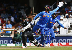 May 25, 2019 - London, England, United Kingdom - MS Dhoni of India.during ICC World Cup - Warm - Up between India and New Zealand at the Oval Stadium , London,  on 25 May 2019. (Credit Image: © Action Foto Sport/NurPhoto via ZUMA Press)