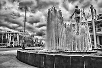 Father & Son Fountain, Seattle Waterfront