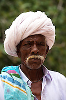 Indian Handlebar Moustache - Indian men are famous for their moustaches, and nowhere else in India is this cultivated more than in Rajasthan, particularly Jodhpur, where it is almost raised to an art form.