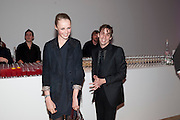 JOHNNY BORRELL; EDIE CAMPBELL, Art Plus Music Party 2010. Whitechapel art Gallery.  To raise money for the gallery';s education and community programme. 22 April 2010.