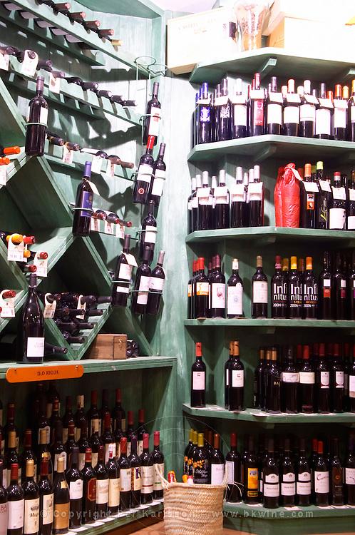 Wine shop. Sitges, Catalonia, Spain