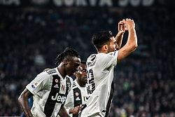 March 8, 2019 - Turin, Piedmont/Turin, Italy - Emre Can of Juventus celebrates during the Seria A Football Match: Juventus vs Udinese. Juventus won 4-1 at Allianz Stadium in Turin 8th march 2019 (Credit Image: © Alberto Gandolfo/Pacific Press via ZUMA Wire)