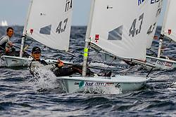 , Kieler Woche 16.06. - 24.06.2018, Laser 4,7 - RUS 208647 - Vladimir NOVOSELOV - Sailing Academy of SPB, Krestovsky ostrov