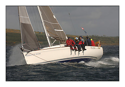 Day 2 of the Bell Lawrie Scottish Series with wild conditions on Loch Fyne for all fleets. Exhilarating and testing racing for Boats and crew...Class 4 GBR8683T RoBo.