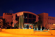 Israel, Omer, Night shot of the Industrial Park, 21 July 2009, Baran Building