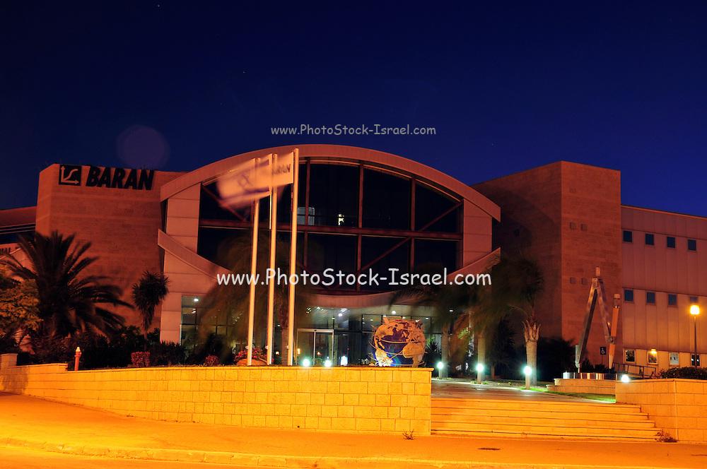 Israel, Omer, Night shot of the Industrial Park, 21 July 2009, Baran Building