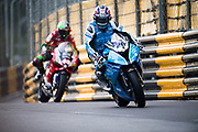 David JOHNSON, AUS, PR Racing BMW S 1000 RR<br /> <br /> 65th Macau Grand Prix. 14-18.11.2018.<br /> Suncity Group Macau Motorcycle Grand Prix - 52nd Edition.<br /> Macau Copyright Free Image for editorial use only