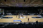 Basketball: Deutschland, 1. Bundesliga, Hamburg Towers - HAKRO Merlins Crailsheim, Hamburg, 10.01.2021<br /> edel-optics-Arena, keine Zuschauer<br /> © Torsten Helmke