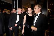 Kristen Scott Thomas; Duncan Kenworthy. The London Critics' Circle Film Awards 2009 in aid of the NSNCC. Grosvenor House Hotel . Park Lane. London. 4 February 2009