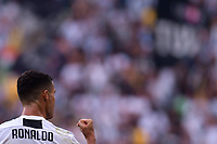 Esultanza go Cristiano Ronaldo Juventus Goal celebration <br /> Torino 16-09-2018 Allianz Stadium Football Calcio Serie A 2018/2019 Juventus - Sassuolo <br /> Foto Federico Tardito / OneNine / Insidefoto