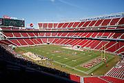 Manteca battles Oakdale during Friday Night Lights at Levi's Stadium in Santa Clara, California, on October 11, 2014. (Stan Olszewski/ Special to The Record)