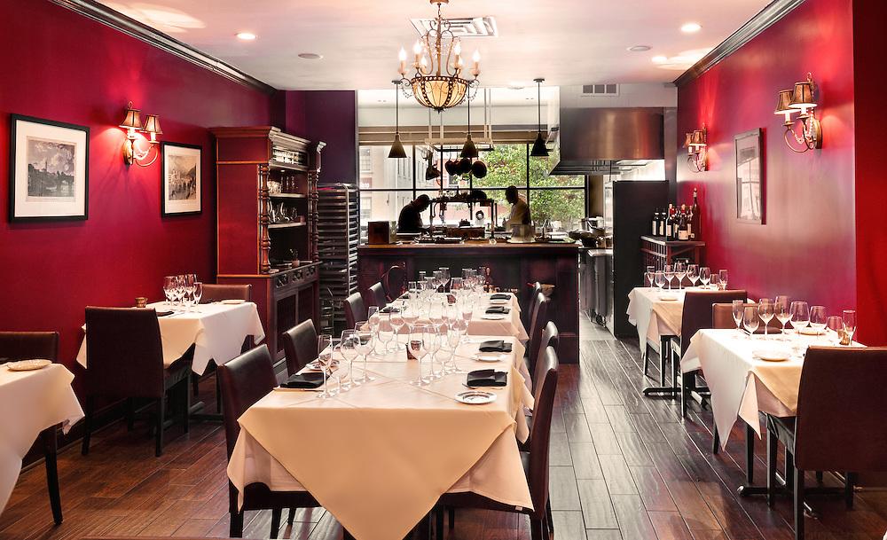 Interior restaurant photography