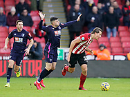 Sander Berge of Sheffield Utd during the Premier League match at Bramall Lane, Sheffield. Picture date: 9th February 2020. Picture credit should read: Simon Bellis/Sportimage