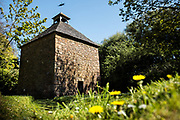 The chapel at Hamptonne Country Life Museum, a Hertage property and historic farm in St Lawrence, Jersey, CI