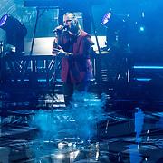 NLD/Hilversum/20180126 - The Voice of Holland 2017 show 1,<br /> David van Rooij