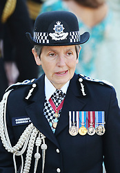 Scotland Yard Commissioner Cressida Dick arrives for the Trooping the Colour ceremony at Horse Guards Parade, central London, as the Queen celebrates her official birthday.