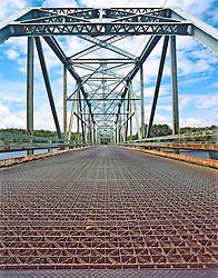 Metal Truss bridge