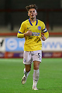 Brighton and Hove Albion striker Danny Cashman (51)during the EFL Trophy Southern Group G match between AFC Wimbledon and Brighton and Hove Albion U21 at The People's Pension Stadium, Crawley, England on 22 September 2020.