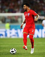 Football - 2018 FIFA World Cup - Group G: England vs. Tunisia<br /> <br /> Kyle Walker of England is seen at Volgograd Arena, Volgograd.<br /> <br /> COLORSPORT/IAN MACNICOL