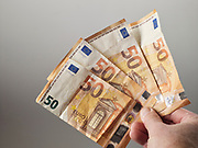 Euro als betaalmiddel. | Euro as a means of payment.