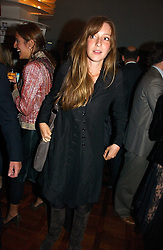 KATE GOLDSMITH at a party to celebrate the publication of 'The year of Eating Dangerously' by Tom Parker Bowles held at Kensington Place, 201 Kensington Church Street, London on 12th october 2006.<br /><br />NON EXCLUSIVE - WORLD RIGHTS