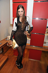 AMBER LE BON at a party in aid of the charity Best Buddies held at the Hogan store, 10 Sloane Street, London SW10 on 13th May 2009.