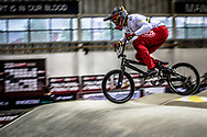 #44 (DEAN Anthony) AUS during practice at the 2019 UCI BMX Supercross World Cup in Manchester, Great Britain