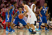 DALLAS, TX - FEBRUARY 01: Joe Jackson #1 of the Memphis Tigers defends against Nic Moore #11 of the SMU Mustangs on February 1, 2014 at Moody Coliseum in Dallas, Texas.  (Photo by Cooper Neill/Getty Images) *** Local Caption *** Joe Jackson