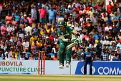 July 28, 2018 - Dambulla, Sri Lanka - South African cricket captain..Faf Du Plessis during the 1st One Day International cricket match between Sri Lanka and South Africa at Rangiri Dambulla International Stadium, Dambulla, Sri Lanka on Sunday 29 July 2018  (Credit Image: © Tharaka Basnayaka/NurPhoto via ZUMA Press)