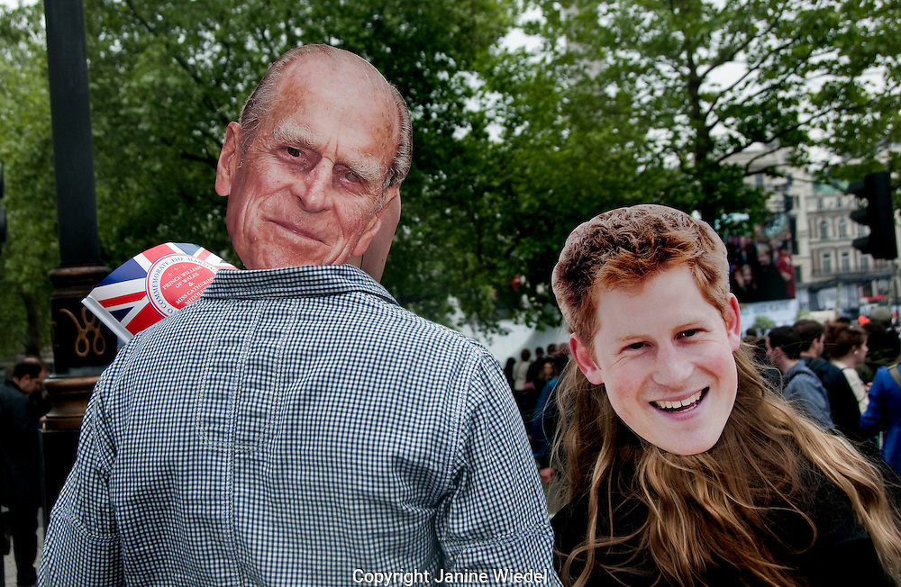 Celebrations in London for the Royal Wedding of William and Kate