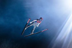 05.01.2016, Paul Ausserleitner Schanze, Bischofshofen, AUT, FIS Weltcup Ski Sprung, Vierschanzentournee, Qualifikation, im Bild Stephan Leyhe (GER) // Stephan Leyhe of Germany during his Qualification Jump for the Four Hills Tournament of FIS Ski Jumping World Cup at the Paul Ausserleitner Schanze, Bischofshofen, Austria on 2016/01/05. EXPA Pictures © 2016, PhotoCredit: EXPA/ JFK