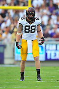 FORT WORTH, TX - SEPTEMBER 13:  Maxx Williams #88 of the Minnesota Golden Gophers looks on against the TCU Horned Frogs on September 13, 2014 at Amon G. Carter Stadium in Fort Worth, Texas.  (Photo by Cooper Neill/Getty Images) *** Local Caption *** Maxx Williams