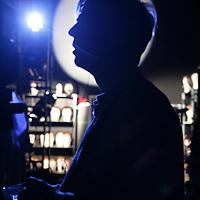Nederland,Den Haag 20 december 2008..Acteur Antonie Kamerling achter de coulissen van de Musical Sunset Boulevard in het World Forum Theater..Kamerling overleed op 6 oktober 2010. Hij was lang depressief.