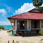 Lighthouse Restaurant back side in Phangan island, Thailand