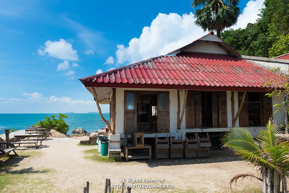 Lighthouse Restaurant back side in Phangan island, Thailand