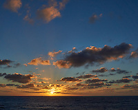 Sun rising over the Pacific Ocean from the deck of the MV World Odyssey. Semester at Sea, 2016 Spring Semester Voyage. Day 2 of 102. Image taken with a Leica T camera and 23 mm f/2 lens (ISO 200, 23 mm, f/14, 1/250 sec).